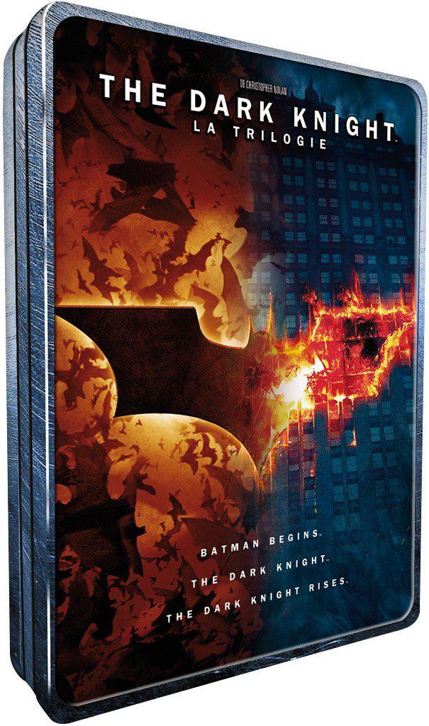 The Dark Knight Trilogy Coffret DVD Édition Limité Boîtier Métal