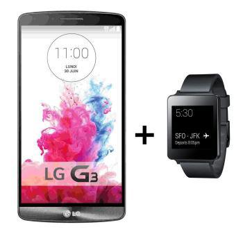 [Clients Cdiscount à volonté] Smartphone LG G3 32Go + Montre LG G Watch