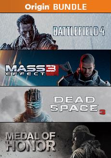 Bundle Origin : Battlefield 4, Mass Effect 3, Dead Space 3, Medal of Honor sur PC