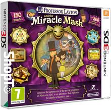 Jeu 3DS Professeur Layton et Le Masque des Miracles (en anglais)