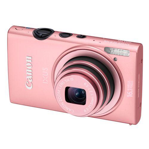Appareil Photo Numérique Canon Ixus 125 HS - Rose -  + carte SD 8go kingston