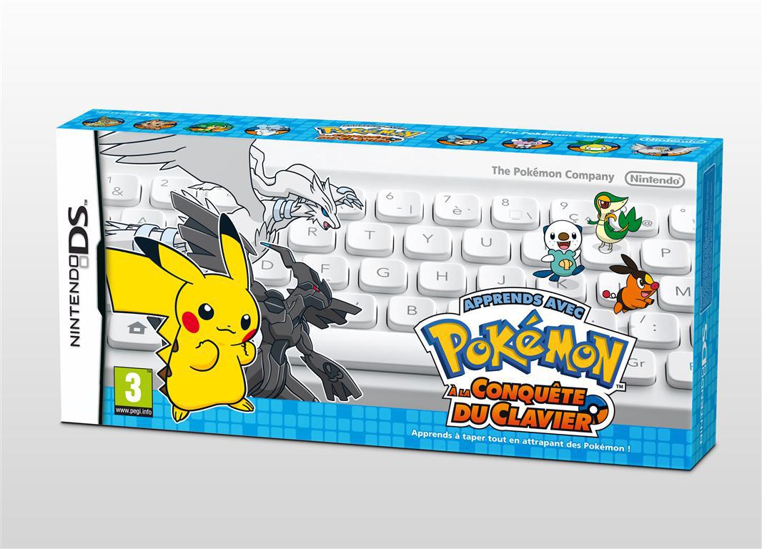 Pokémon à la Conquête du Clavier sur DS