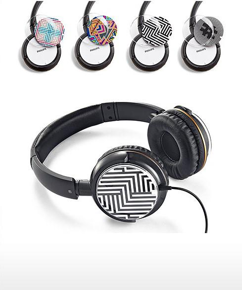 Casque audio avec coques interchangeables PHILIPS SHL8905