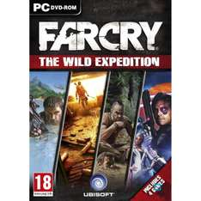 Trilogie Far Cry + Blood Dragon sur PC