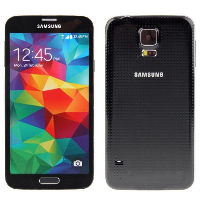 Smartphone  Samsung galaxy S5 Noir 16Go 4G (50€ ODR)