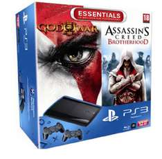 Console Playstation 3 12 Go Sony + God of War 3 + Assassin's Creed Brotherhood