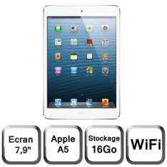 Tablette Apple iPad mini Wi-Fi 16 Go blanc & argent