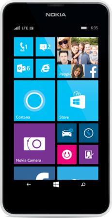 Smartphone Nokia Lumia 635 8 Go Noir (avec ODR de 30€)