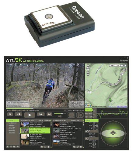 Puce GPS pour caméra Oregon Scientific ATC9K