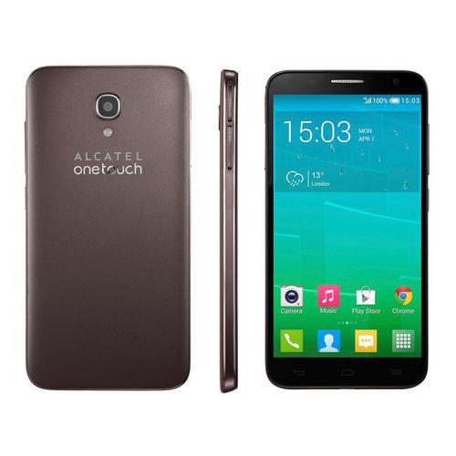"Smartphone 5""  Alcatel One Touch - Idol 2S 4G ""chocolat"""