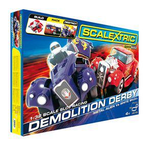 Coffret Scalextric Demolition Derby