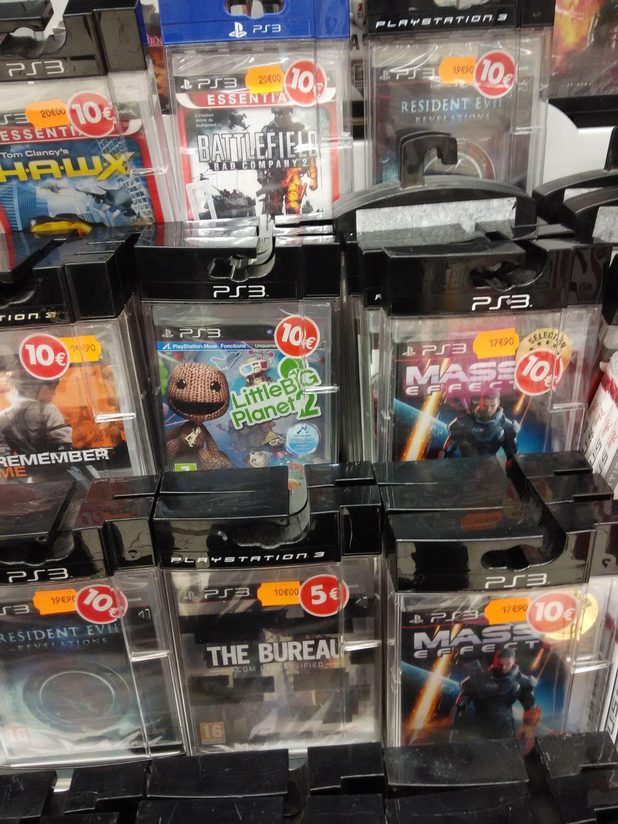 Promotions sur une sélection d'articles Jeux Vidéo - Ex: Little Big Planet 2 sur PS3