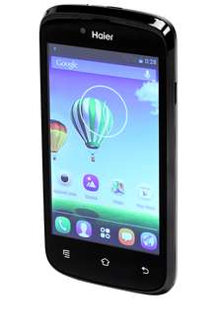 "Smartphone 4"" Haier W716S 4Go Bluetooth, Wifi, EDS, GPS - 2 coques"