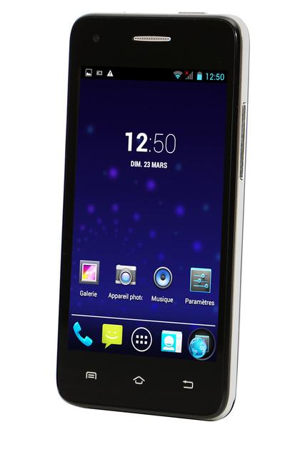 "Smartphone 4"" Luxya SPH-3970DCI - IPS, Dual Core, 3G H+ Noir"
