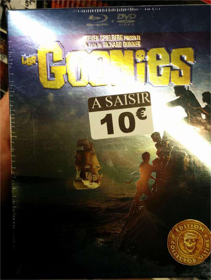 Coffret Blu-ray/DVD Goonies - Edition Collector (Jeu inclus)