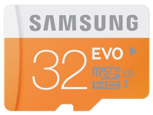 Carte Mémoire Micro SD Samsung EVO 32 Go - Classe 10