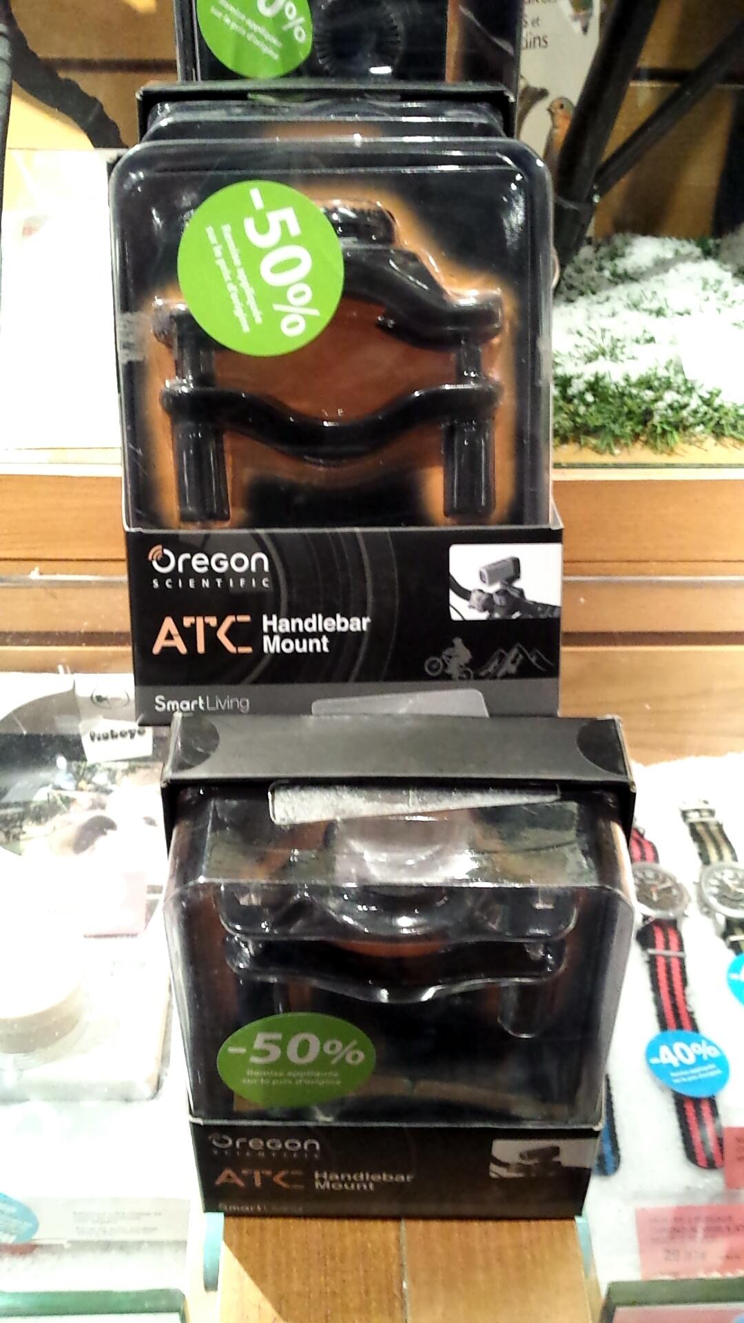 Support guidon ATC pour caméra Oregon Scientific