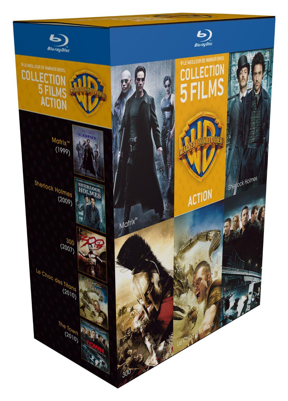 Sélection de coffrets 5 Blu-ray « 90 ans Warner » + 1 magnet collector offert