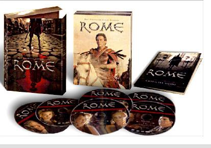 Coffret Rome intégral de la Saison 1 Episodes 1 à 12 - Bonus