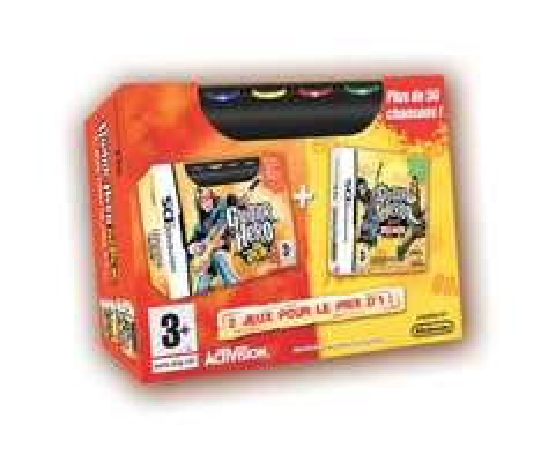 "Jeu Bi-Pack ""Guitar Hero On Tour"" sur Nintendo DS"