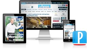 Abonnement à l'édition numérique du journal Le Parisien - 6 mois à 39€, 1 an