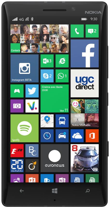 Smartphone Nokia Lumia 930 noir