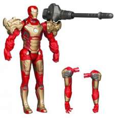 Figurine Iron man deluxe Assembler 10 cm (Licence Hasbro)