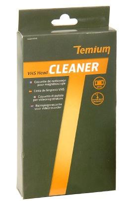Nettoyage têtes magnétoscope Temium Clean VHS