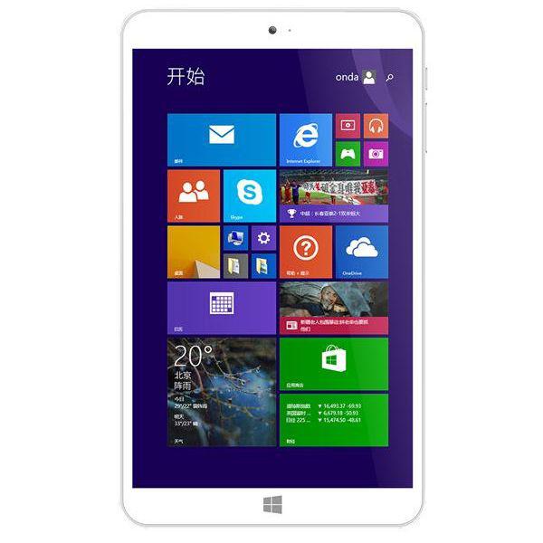 """Tablette 8"""" onda V820W - Atom quad core Z3735F- 2Go RAM - 16Go ROM - Windows 8.1"""