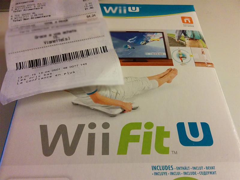 Jeu Wii Fit U