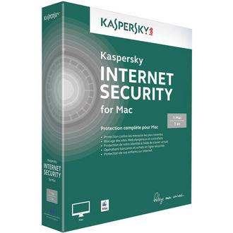 Kaspersky Internet Security 2014 (1 poste/ 1 an) Mac