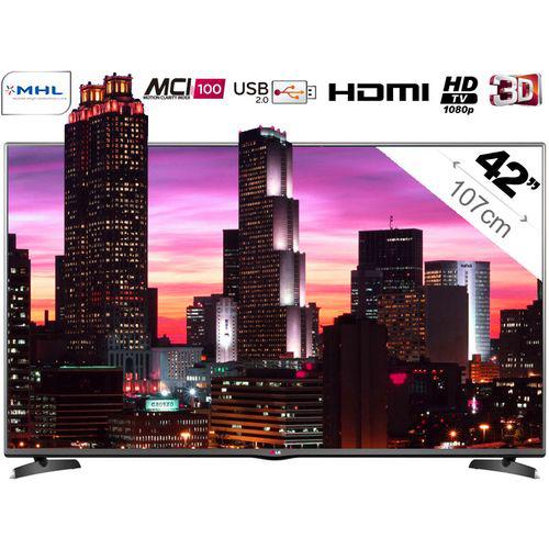 TV 42'' LG 42LB6200 - Full HD LED 3D