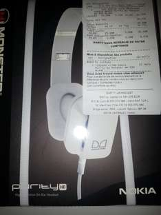 Casque Nokia purity HD by Monster WH-930