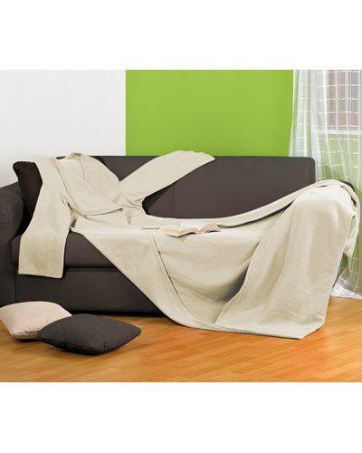 Couverture à manches (100% polyester) Slanket