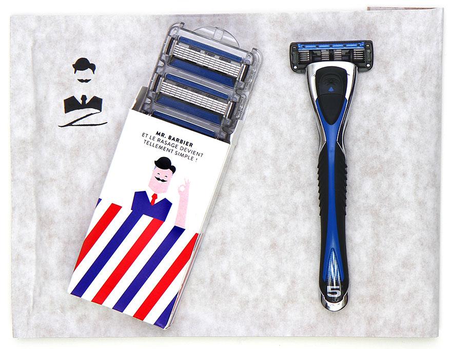Un kit rasoir + lames gratuit