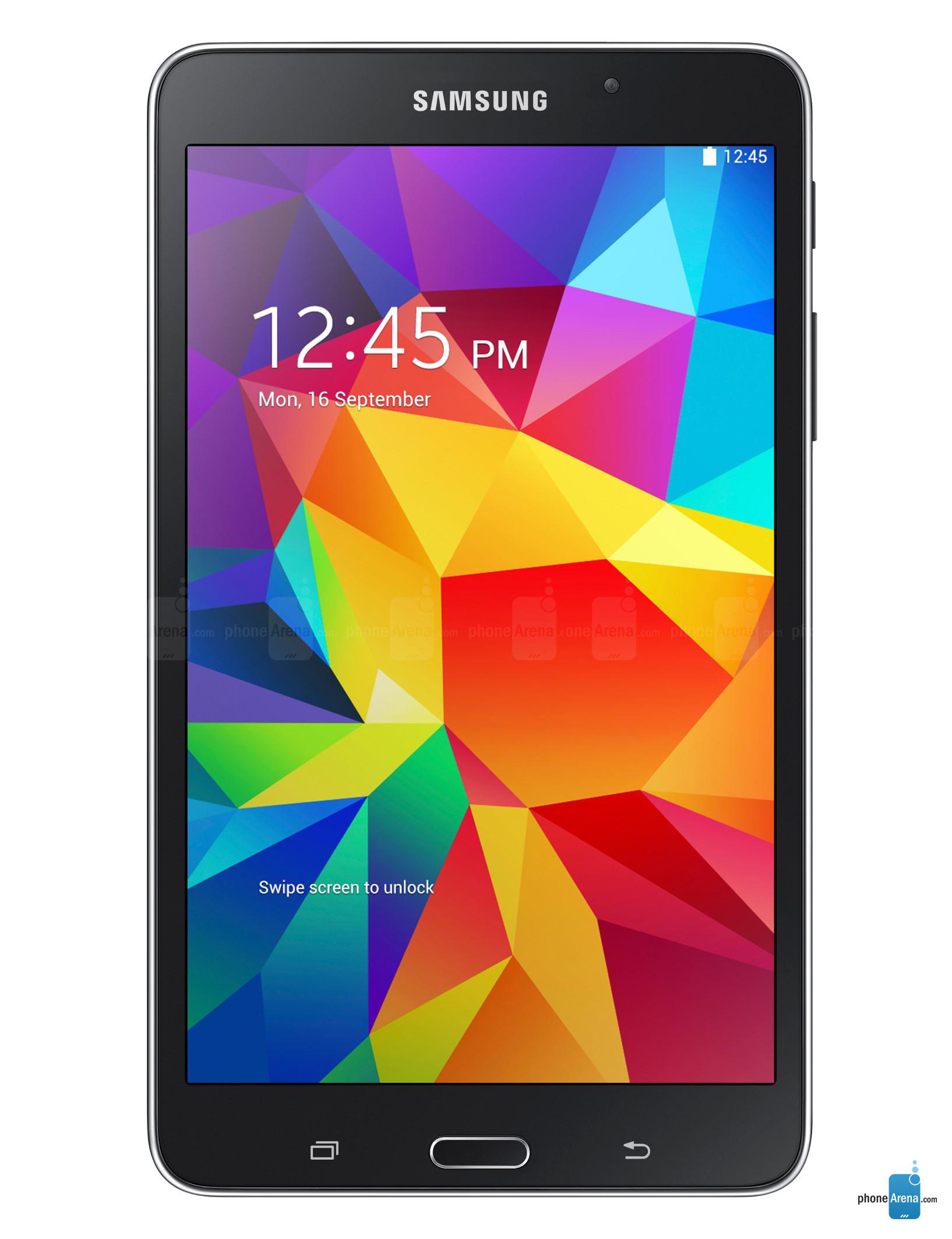 "Tablette Samsung Galaxy Tab 4 7"" + Etui Samsung Book Cover (avec ODR 30€)"