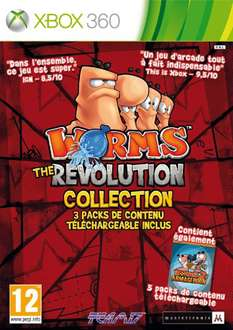 Worms - The Revolution Collection sur XBOX 360