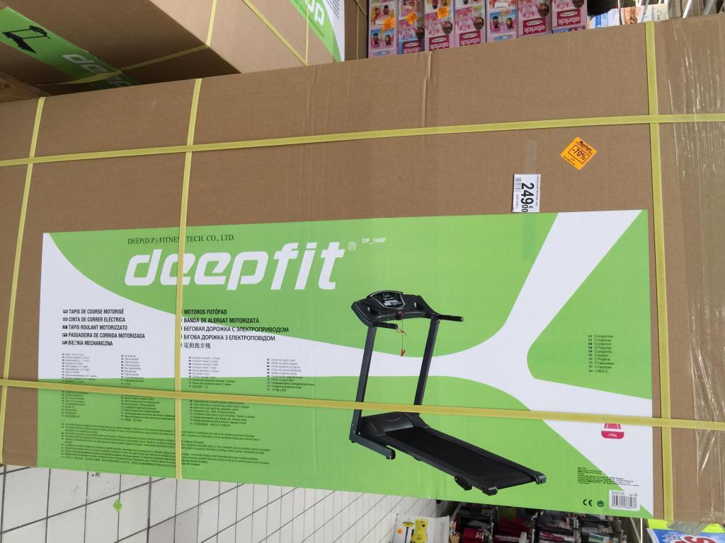 Tapis de course motoris deepfit - Tapis de course david douillet motorise ...