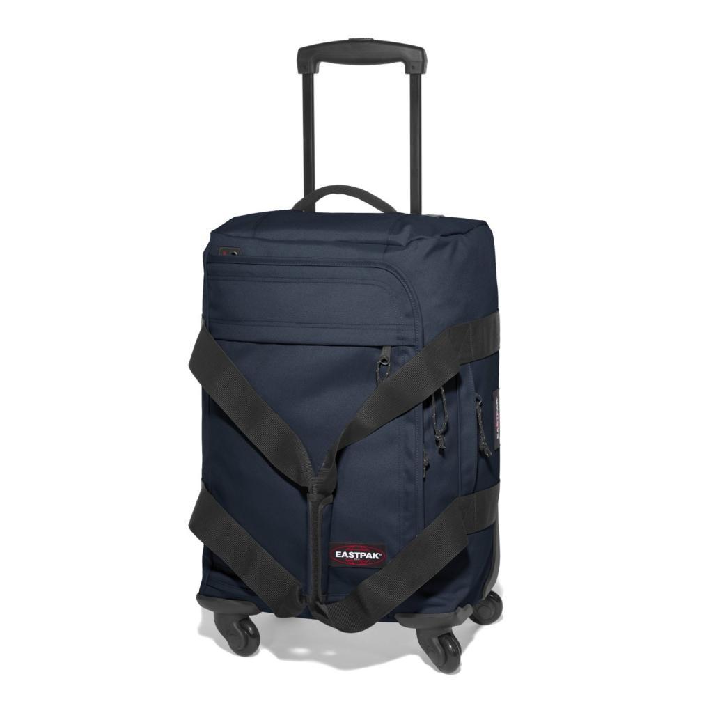 valise cabine 4 roues eastpak spinnerz s 35l bleu midnight. Black Bedroom Furniture Sets. Home Design Ideas