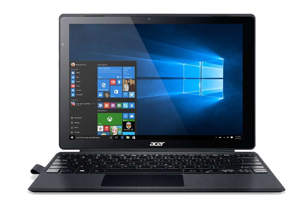pc portable hybride 12 acer switch alpha 12 i5 6200u 8go ram 256go ssd. Black Bedroom Furniture Sets. Home Design Ideas