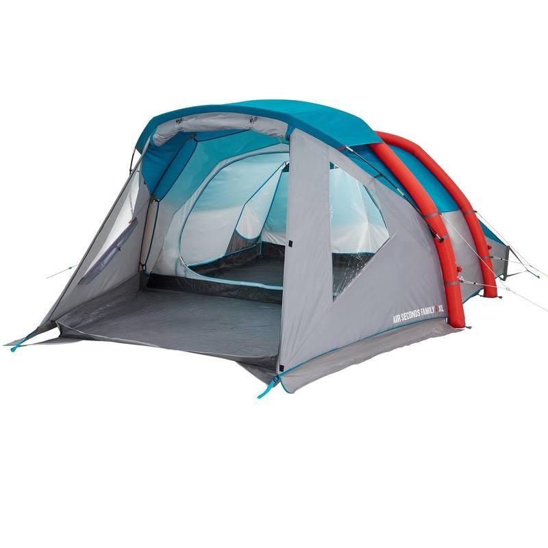 Camping Zelt Quechua : Tente de camping familiale quechua air second family xl