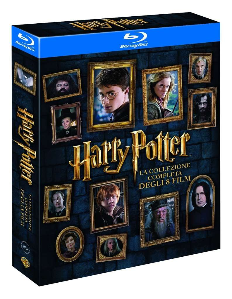 coffret blu ray int grale harry potter. Black Bedroom Furniture Sets. Home Design Ideas