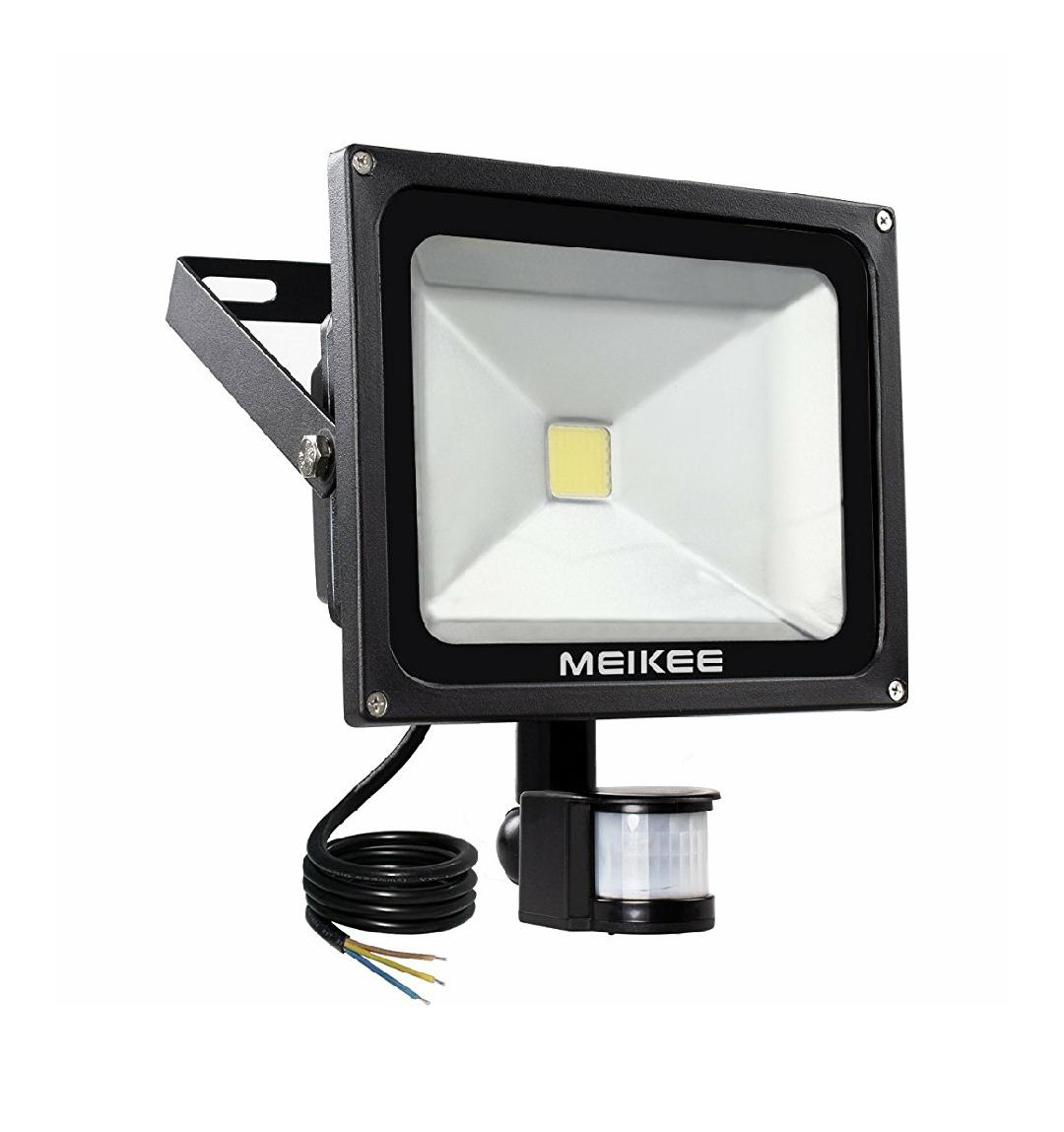 projecteur led d tecteur de mouvement meikee 30w vendeur tiers. Black Bedroom Furniture Sets. Home Design Ideas