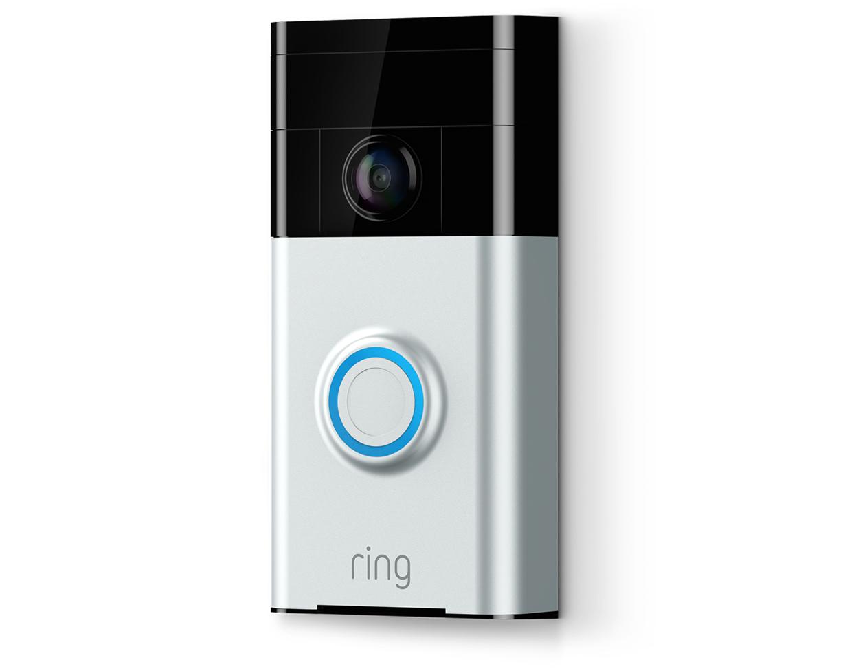 Sonnette vid o ring doorbell 8vr1s5 veu0 coloris au choix - Sonnette video ring ...