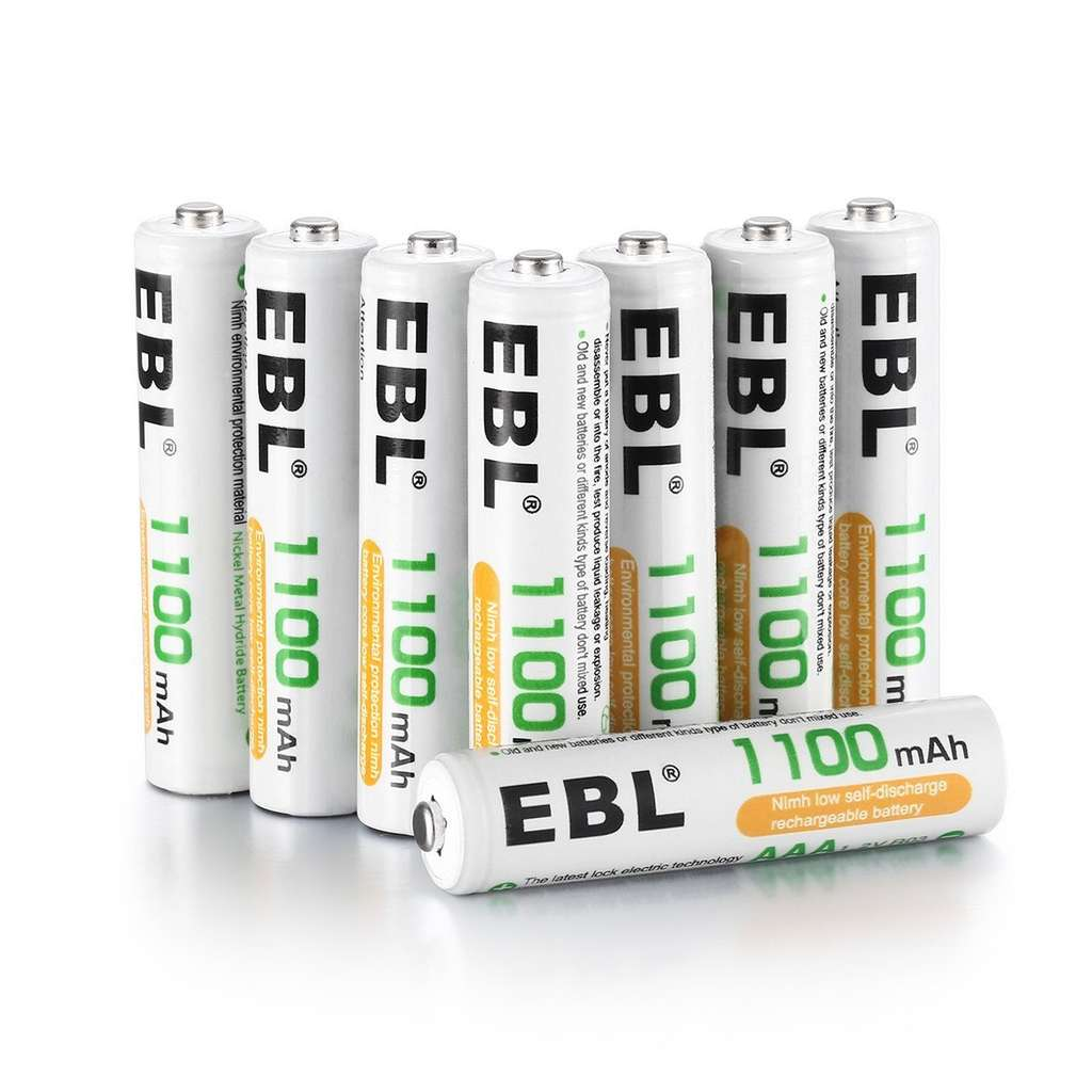 8 piles rechargeables ebl aaa 1100mah vendeur tiers. Black Bedroom Furniture Sets. Home Design Ideas