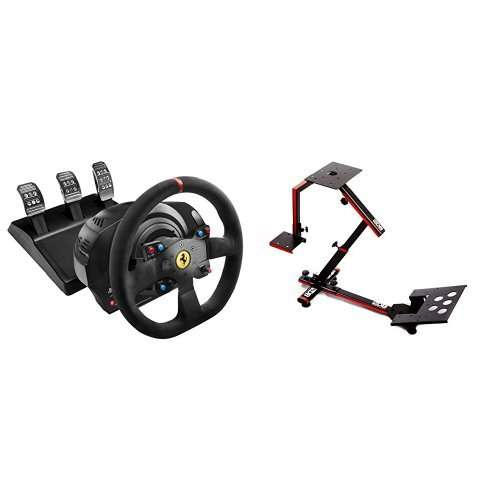 volant thrustmaster t300 ferrari alcantara edition support 69db wheel stand evo compatible pc. Black Bedroom Furniture Sets. Home Design Ideas
