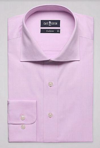 s lection de chemises caf coton pour hommes en promotion. Black Bedroom Furniture Sets. Home Design Ideas