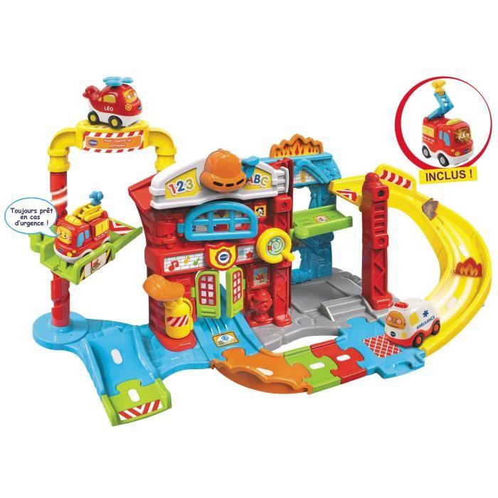 Jouet vtech tut tut bolides maxi caserne de pompiers - Code promo king jouet frais de port gratuit ...
