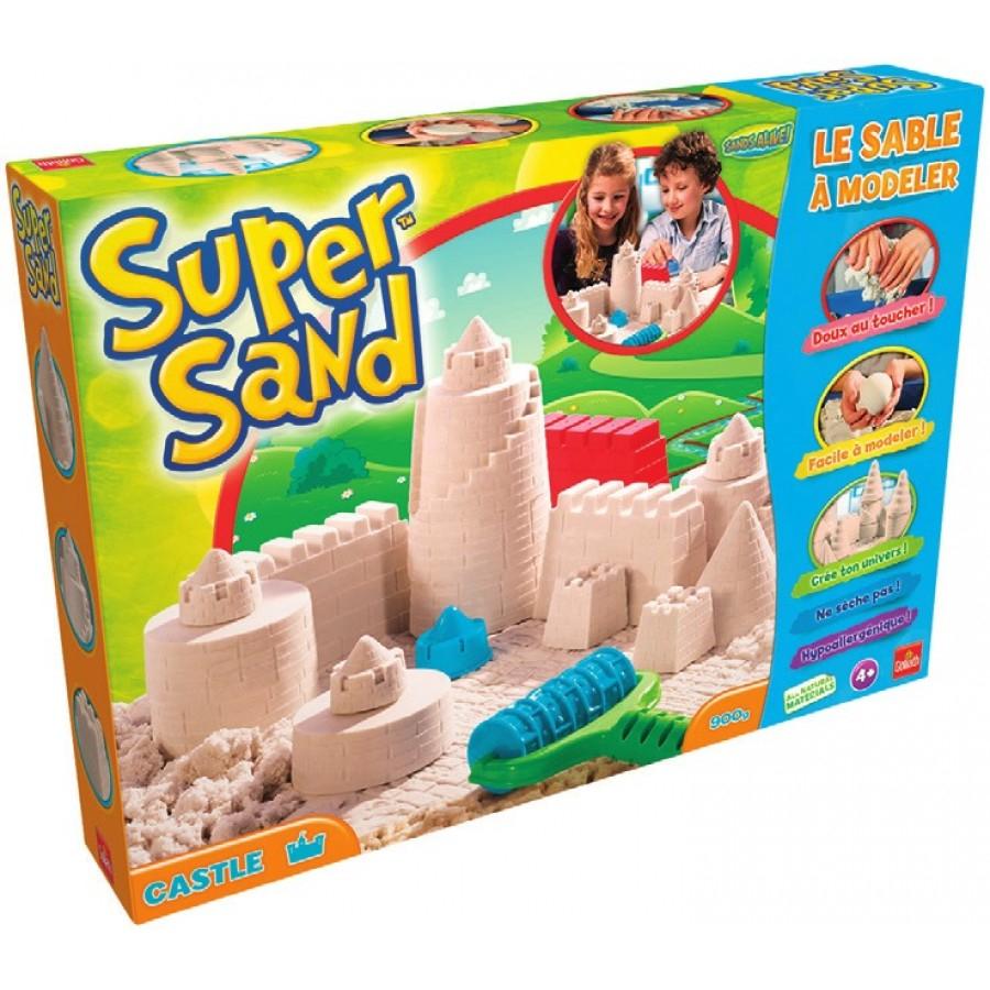 ch teau de sable modeler goliath super sand avec 50 sur la carte. Black Bedroom Furniture Sets. Home Design Ideas