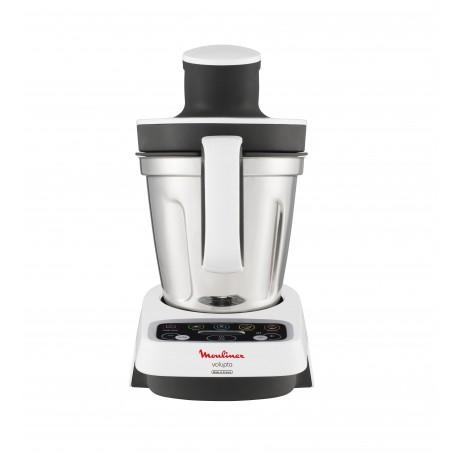 Robot cuiseur moulinex volupta hf404110 3 l 1000 w gris - Robot cuiseur moulinex ...